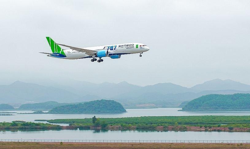 Bamboo Airways tiếp tục là hãng bay đúng giờ nhất trong tháng