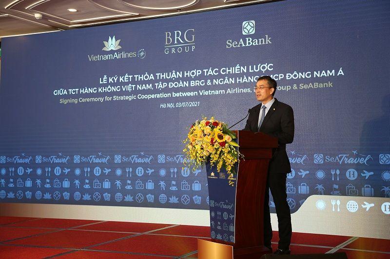 VNA, Tập đoàn BRG và SeABank ký kết thỏa thuận hợp tác chiến lược