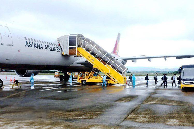 Sân bay Cam Ranh đón chuyến bay 2 chiều của Asiana Airlines xuất phát từ Incheon (Hàn Quốc)